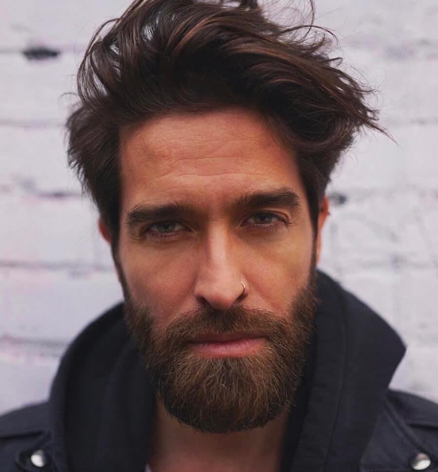 capelli barba moda 2018 2019