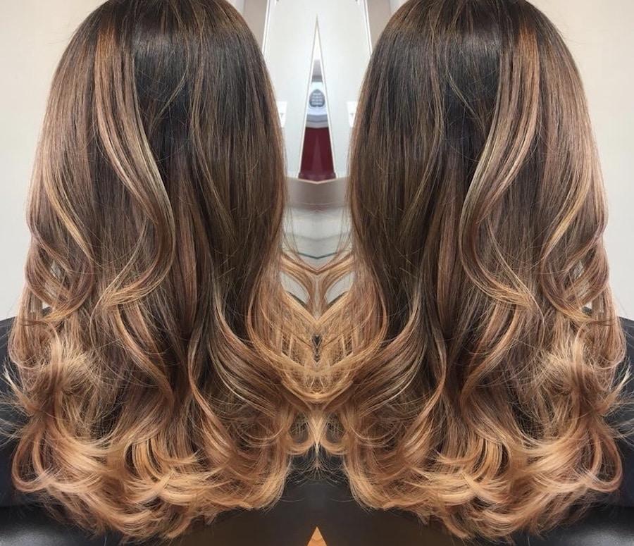 colore capelli inverno  colori tagli  tendenze moda