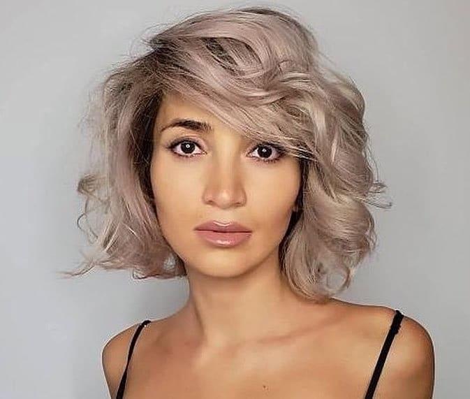 capelli tagli medi inverno 2018 2019-