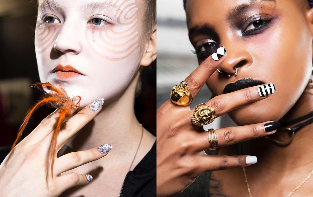 nail art inverno 2018-2019