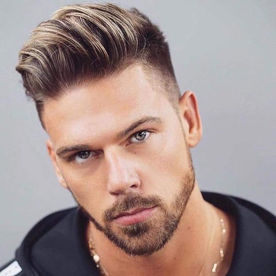 tagli capelli uomo rasati lati 2018,2019