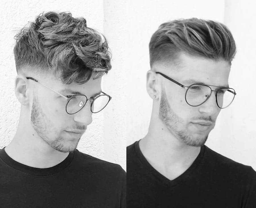 tagli di capelli uomo 2018- rasati ai lati f40612d2868a