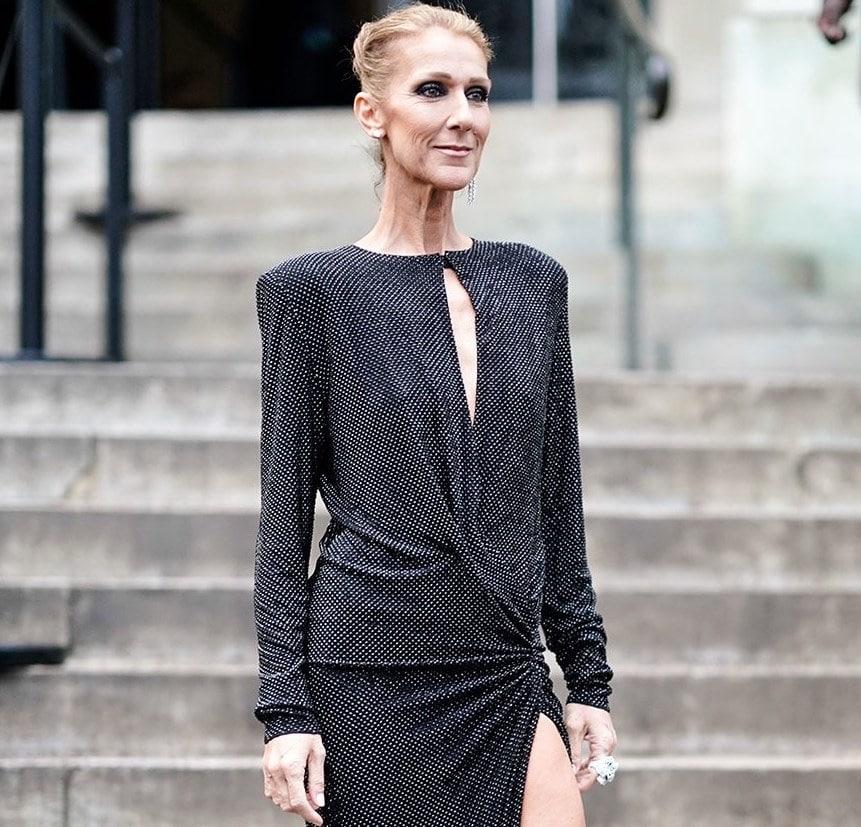 Celin Dion 2019 parigi haute couture