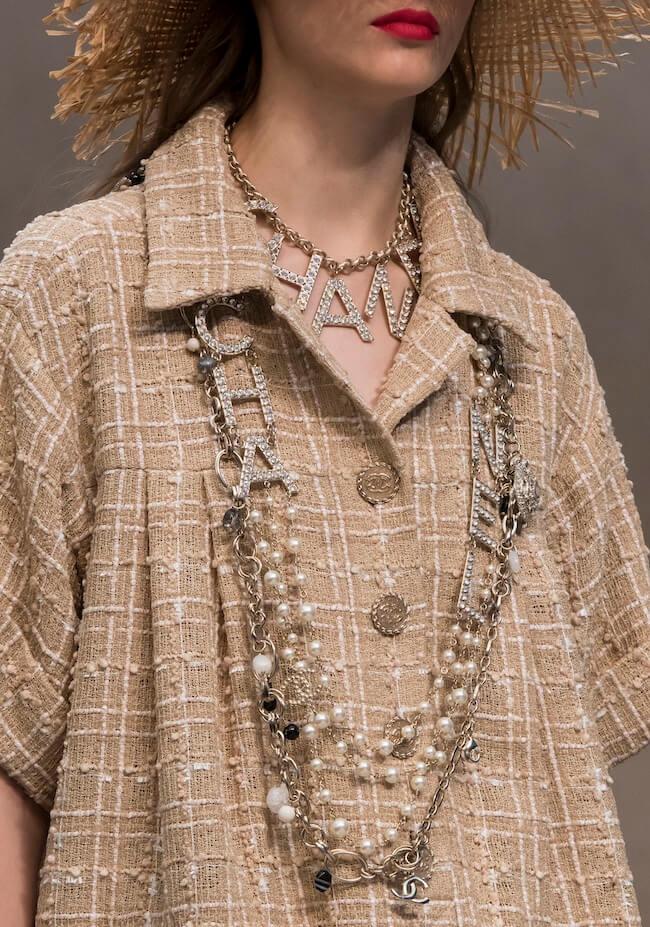 Chanel collane estate 2019