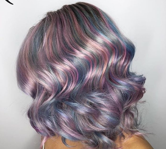 Onde capelli colorati 2019 wella hair