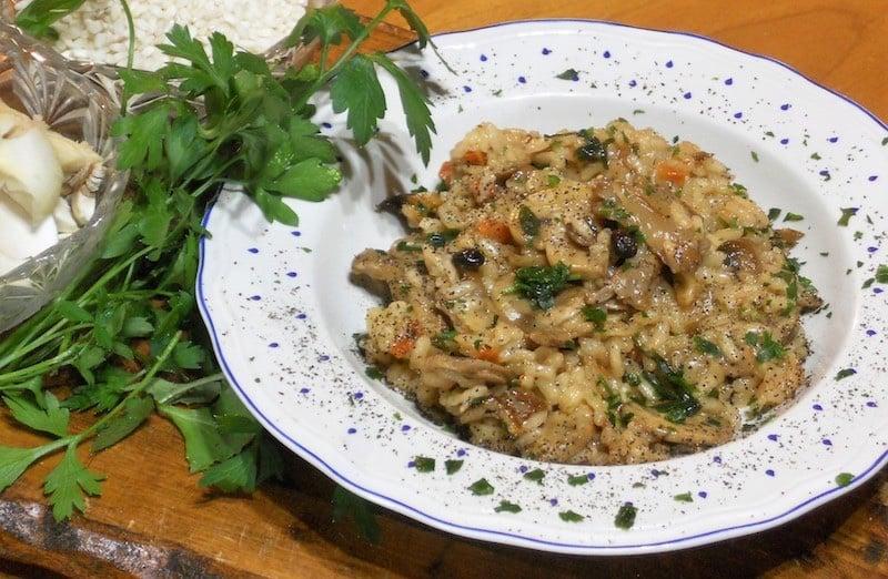 Risotto ai funghi misti ricetta