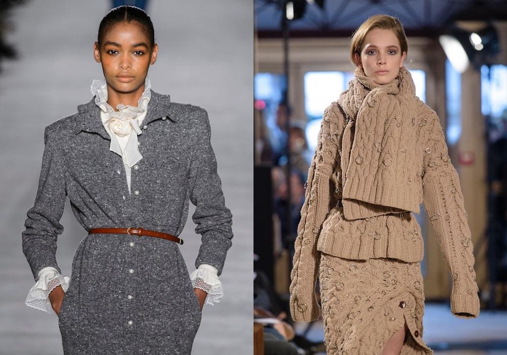 f81347ae277d Vestiti di lana e maglia inverno 2018 2019