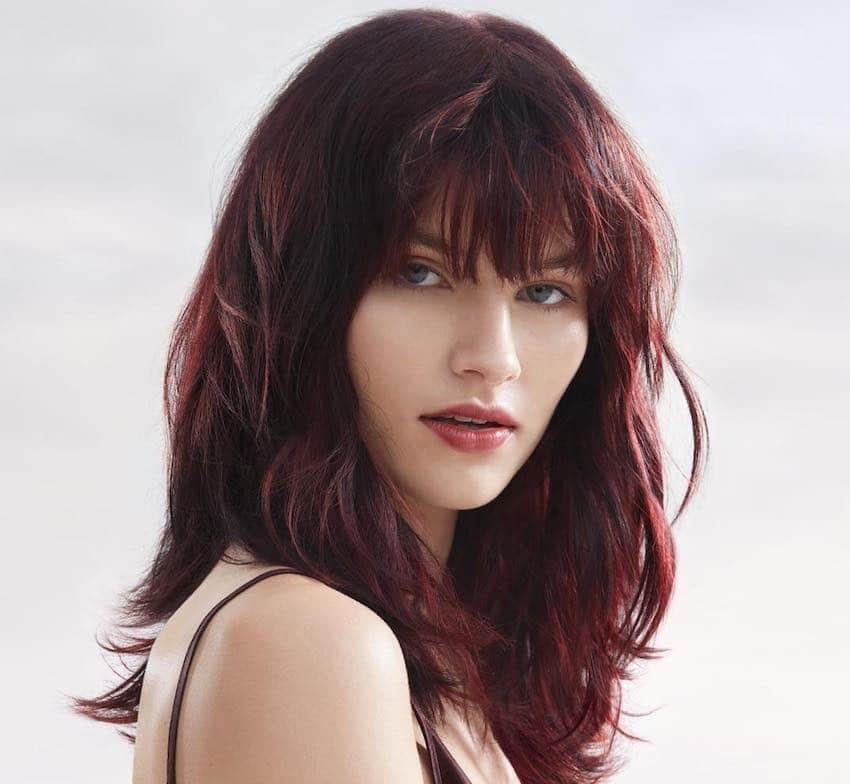 Wella hair capelli mossi rossi 2019