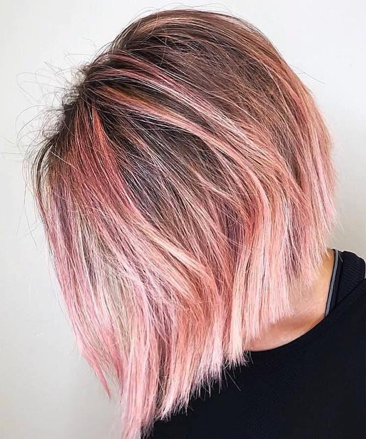 capelli rosa autunno 2018