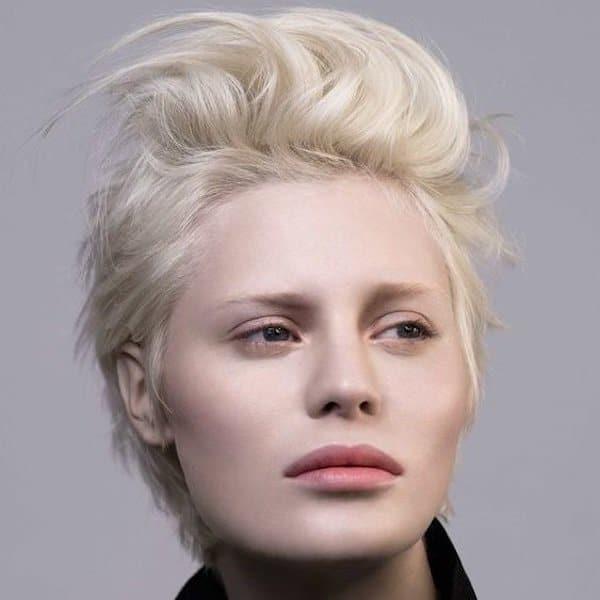 carrè punk capelli corti inverno 2019