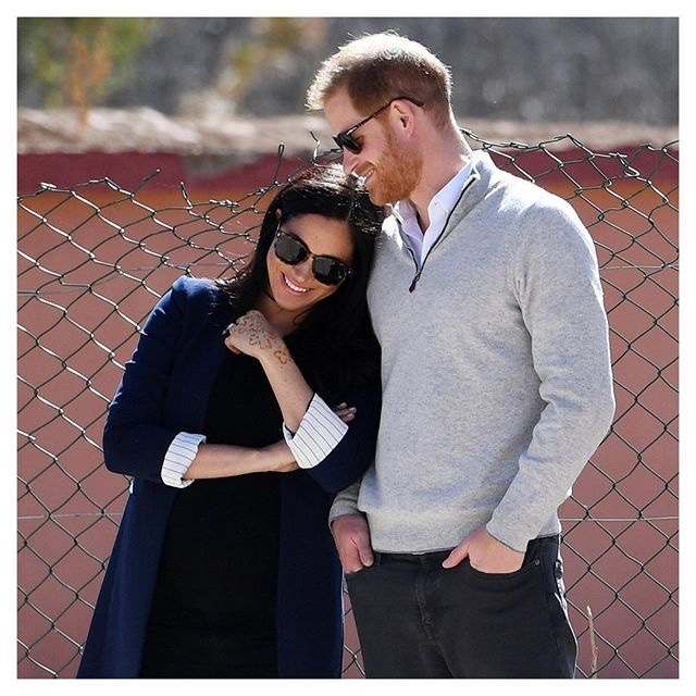 harry meghan instagram