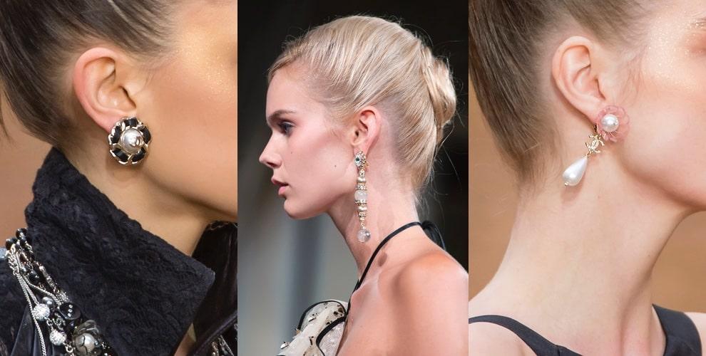 orecchini moda parigi inverno 2019