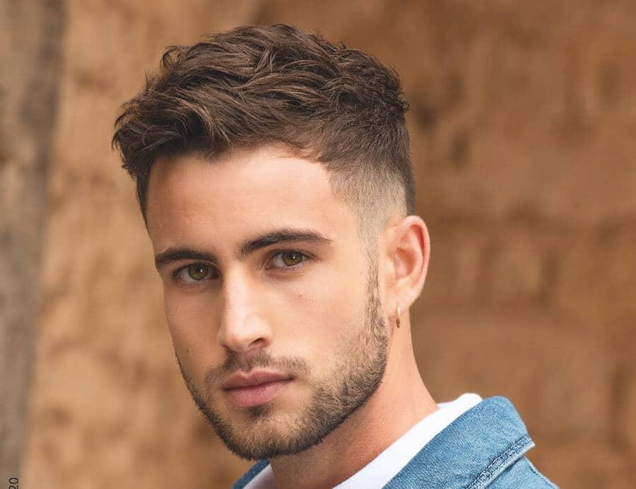 taglio capelli uomo corto estate 2020