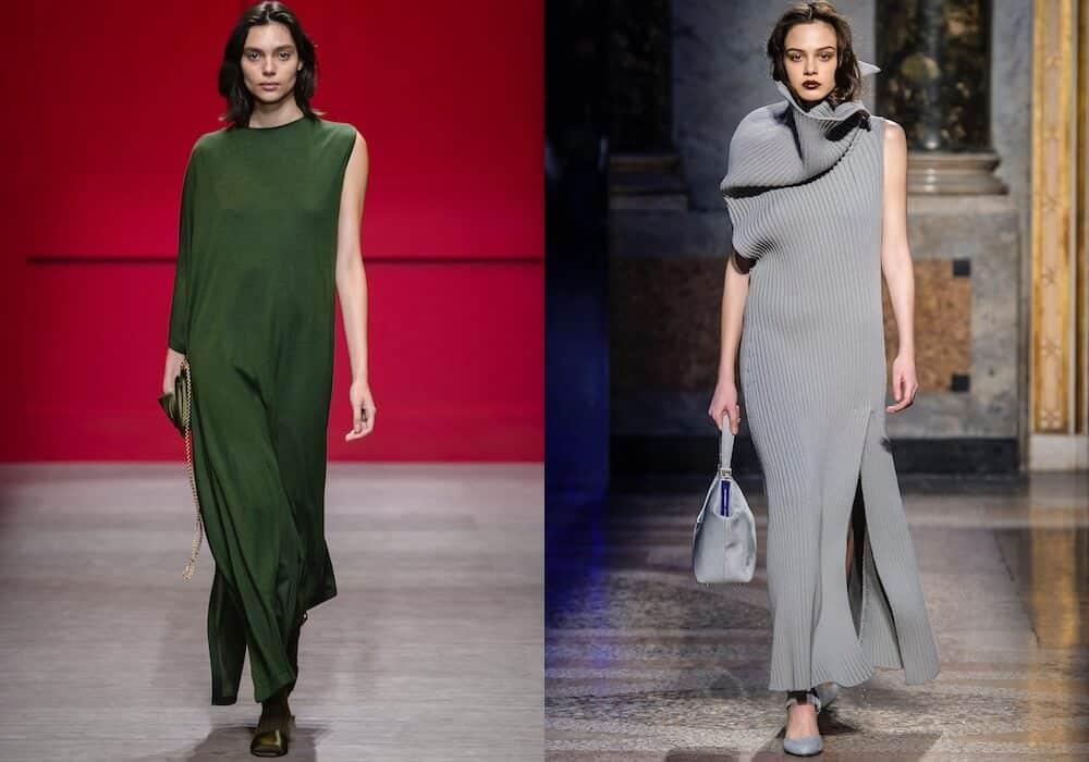 the best attitude 23d9c e8275 Vestiti di lana e maglia, 41 abiti lunghi e corti per l ...