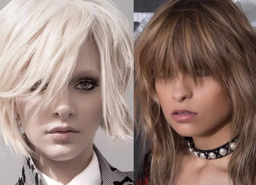 Tagli capelli medi donne 2019 foto