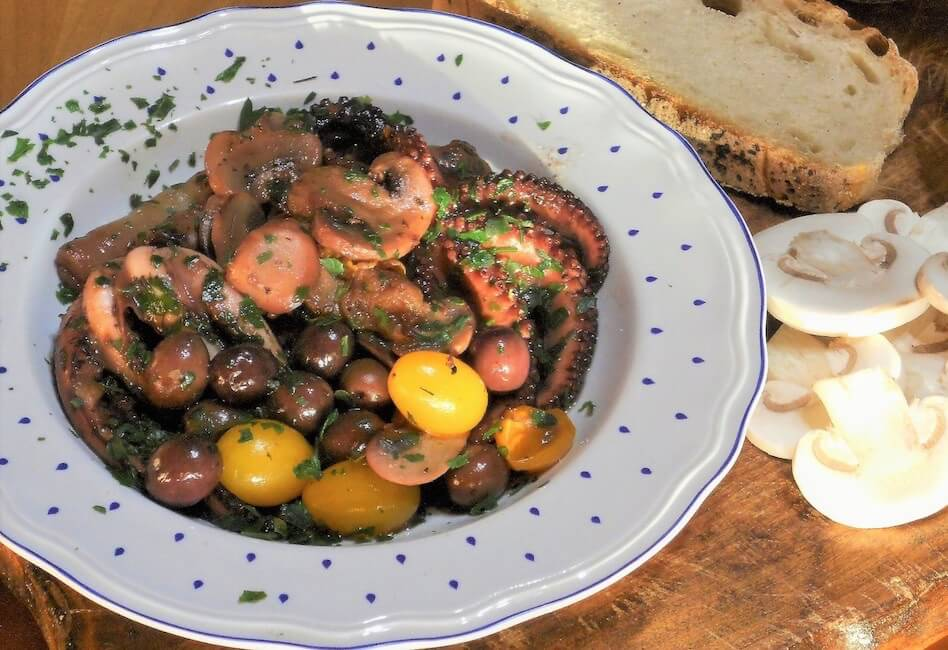 Polipetti veraci e champignon