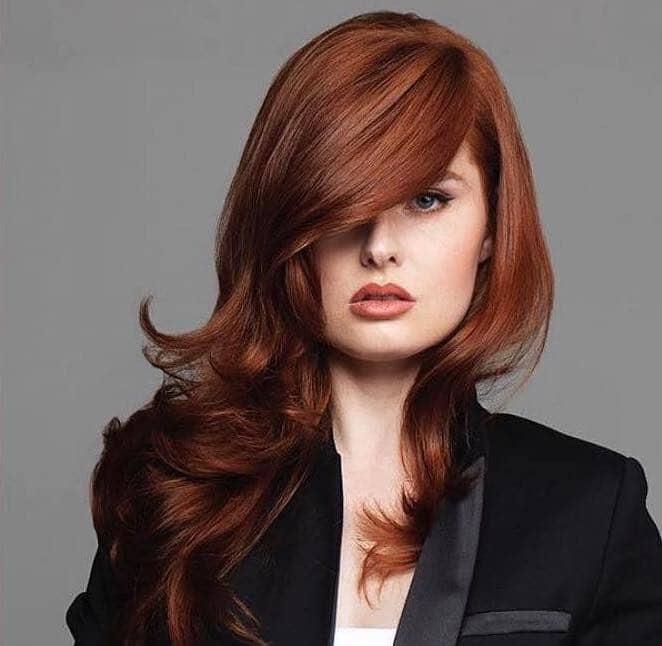 capelli rossi lunghi scalati tony guy londra