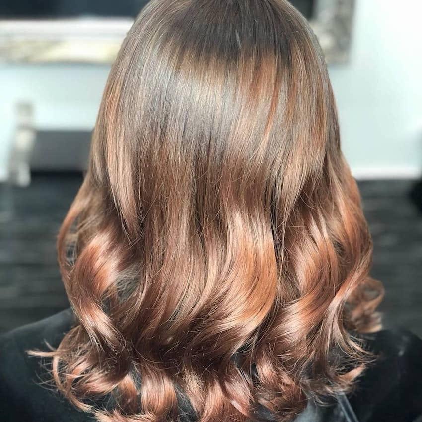castano chiaro 2019 capelli ombre