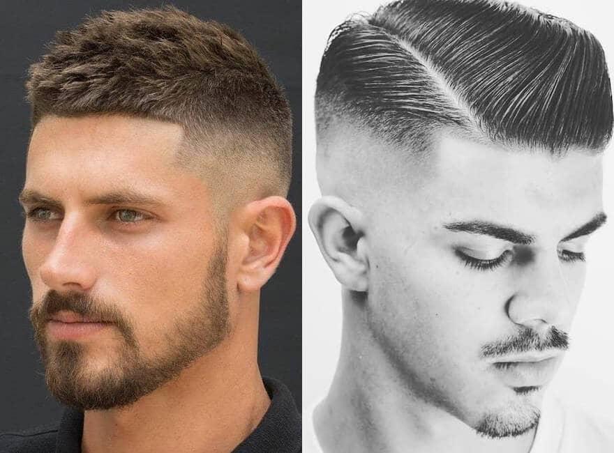 taglio capelli corti uomo