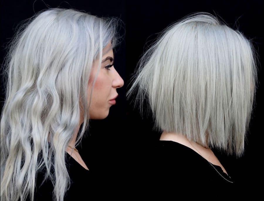 Tagli capelli grigi 2019