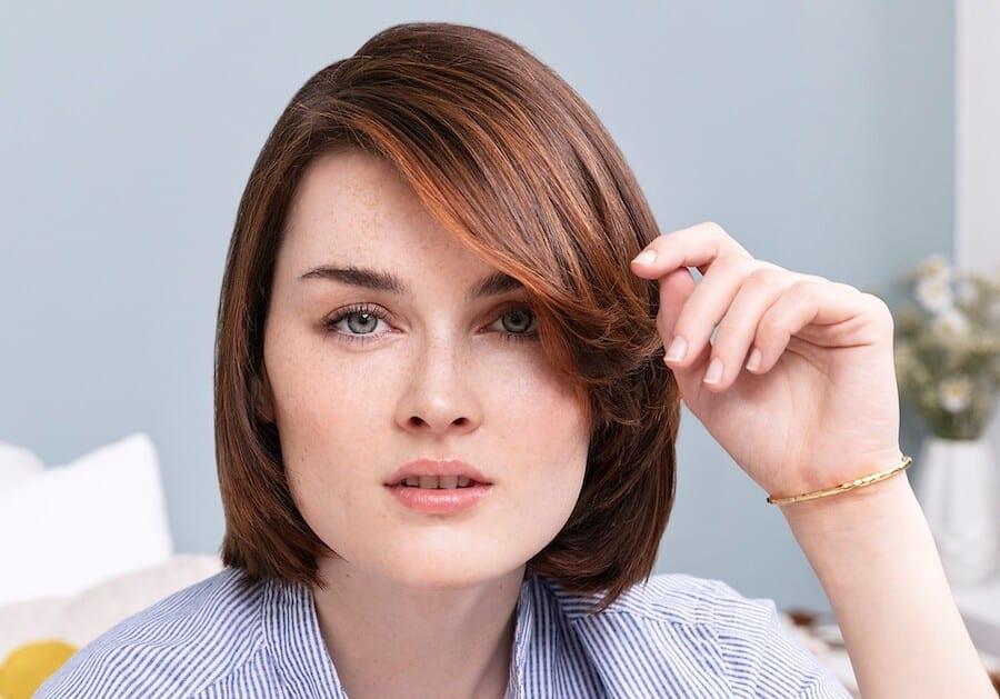 Tagli di capelli viso tondo