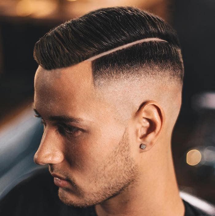 capelli alla moda uomo 2019, taglio corto