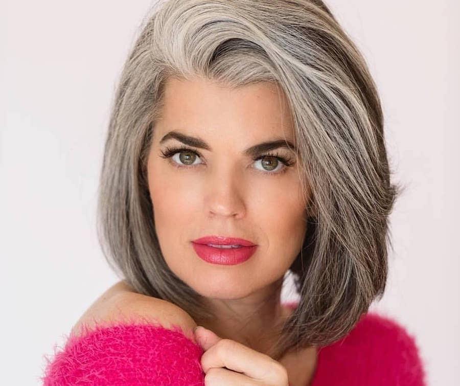 capelli grigi medi 2019