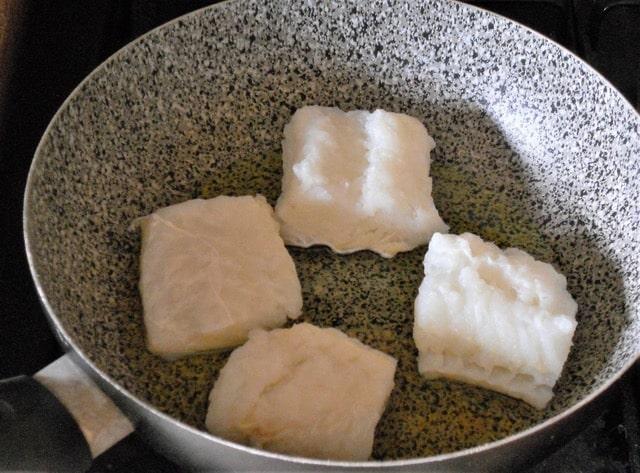 Baccala al verde ricetta