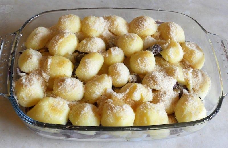 Baccala con patate al forno
