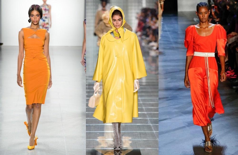 Moda donna pe 2019 colori
