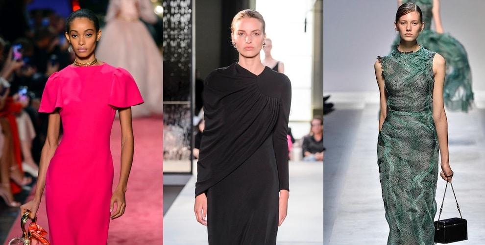 abiti donna eleganti lunghi colori- 2019