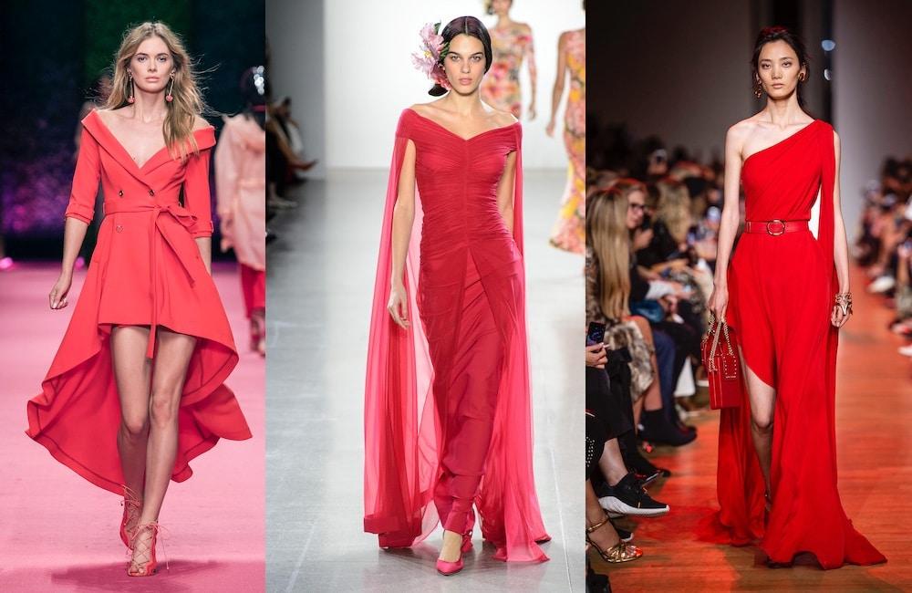 abiti rossi estivi 2019