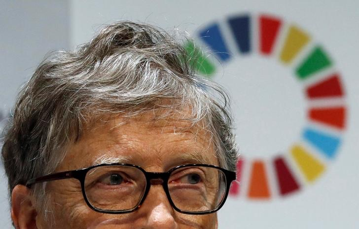 Bill Gates capelli
