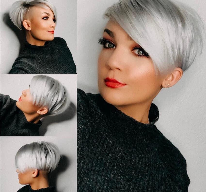 Trucco per capelli grigi  come scegliere il makeup più adatto 007f48e7f0b5