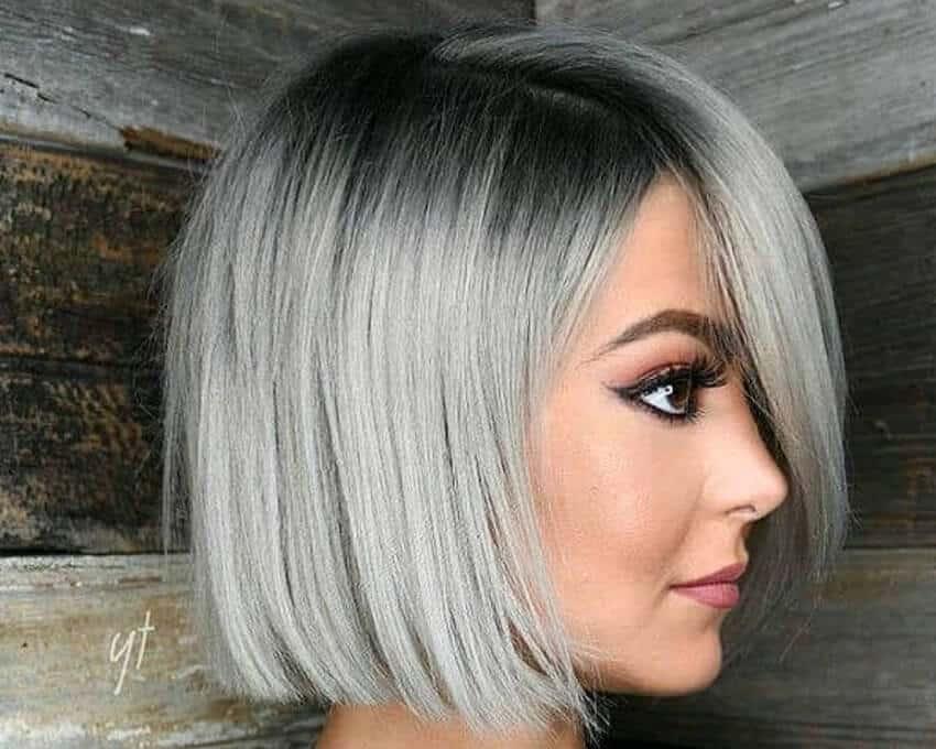 capelli grigi make up 2019
