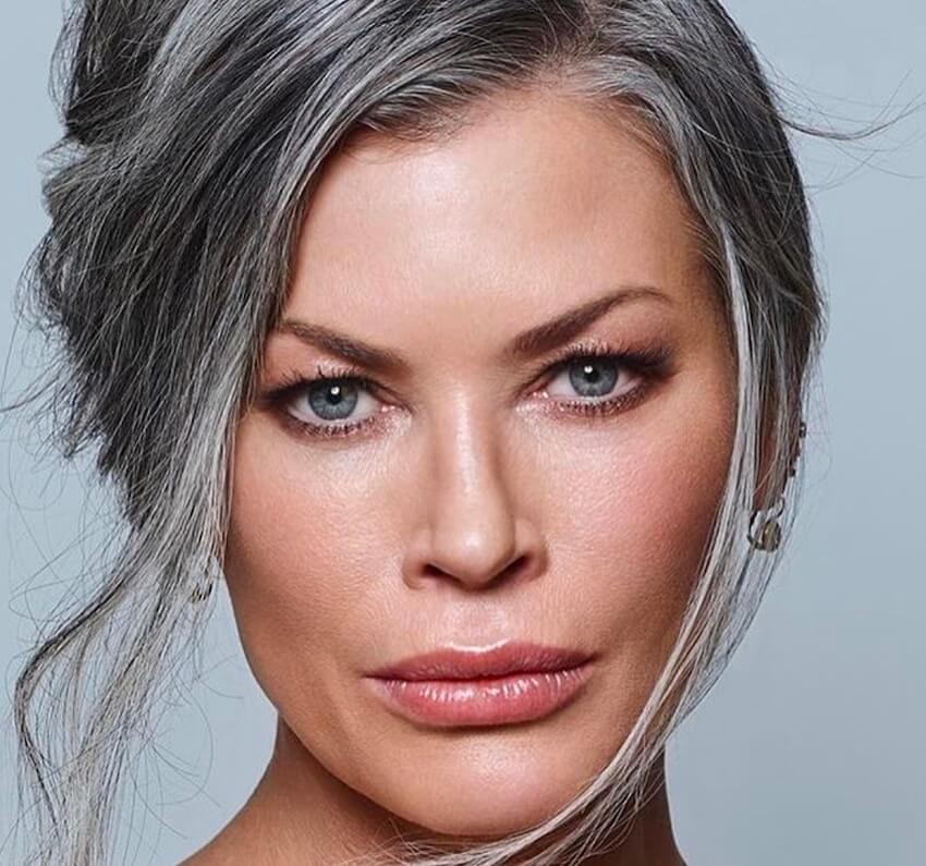 Trucco per capelli grigi  come scegliere il makeup più adatto 8deb12f80412