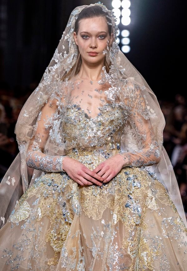 Elie Saab alta moda sposa estate 2019