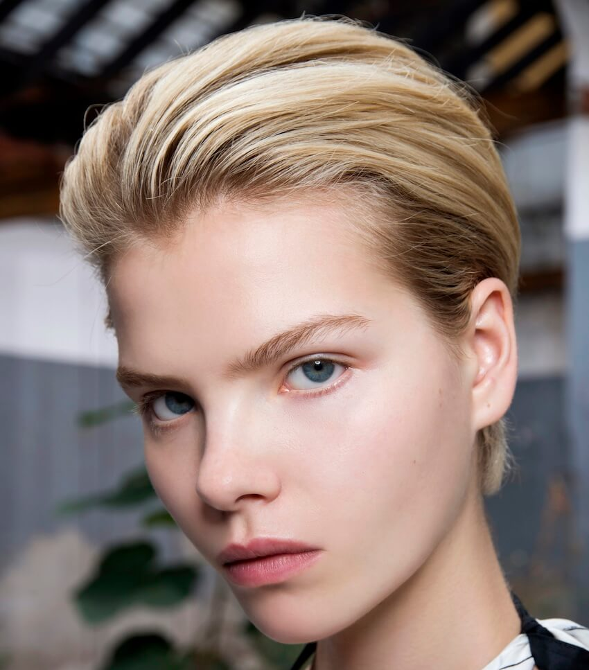 Jil Sander capelli corti estate 2019
