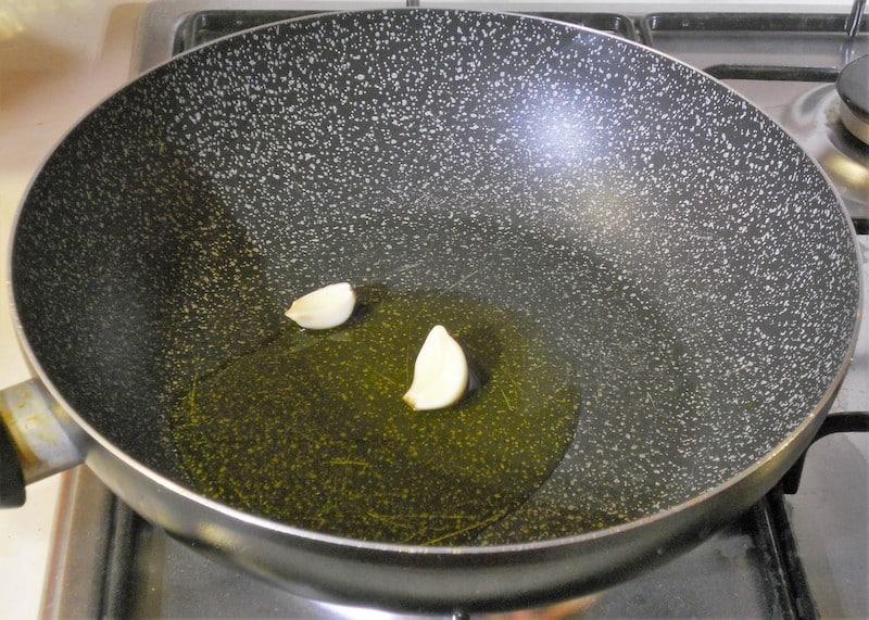 Polenta e funghi trifolati 1