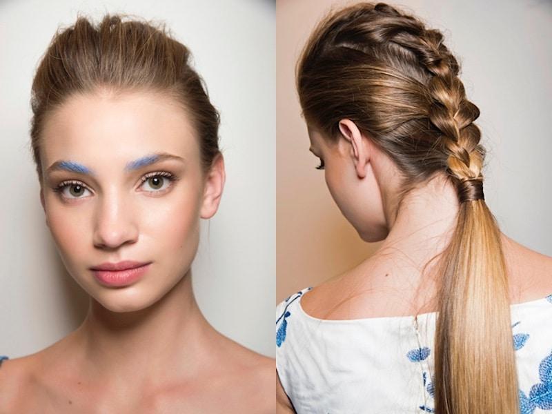 Acconciature capelli lunghi con bigodini