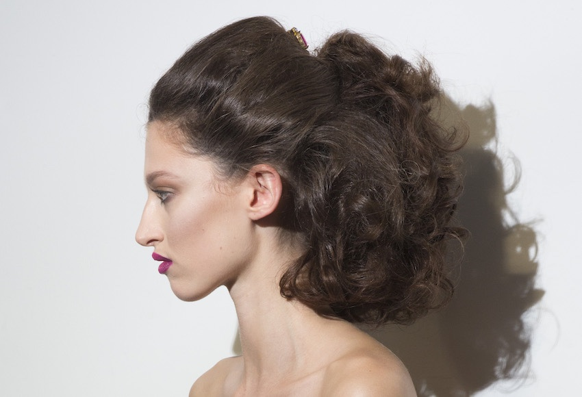 acconciature estate 2019-capelli semi raccolti