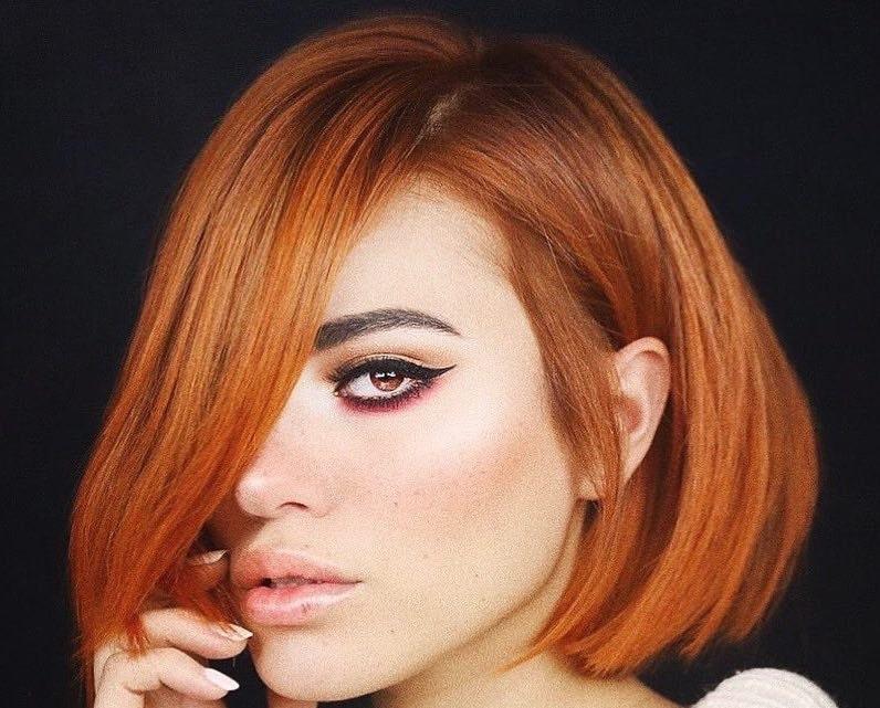 capelli medi rosso rame estate 2019