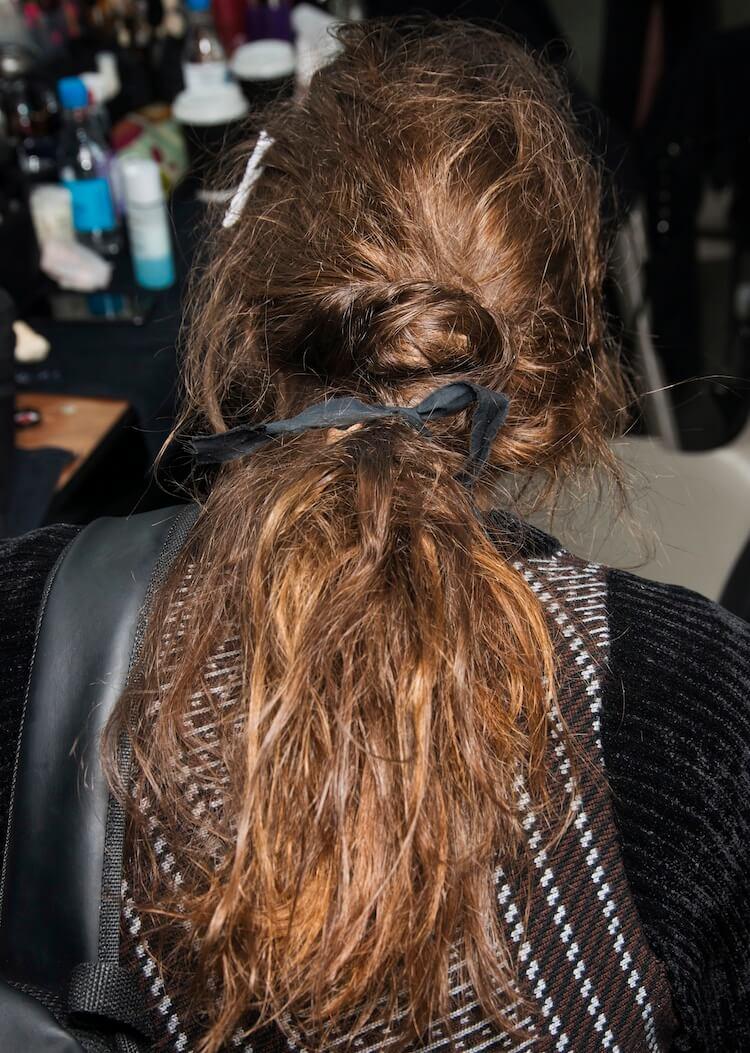 capelli semiraccolti 2019