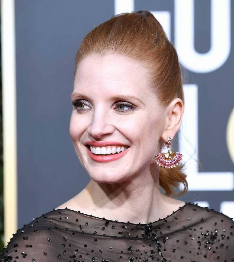 jessica chastain golden globe 2019