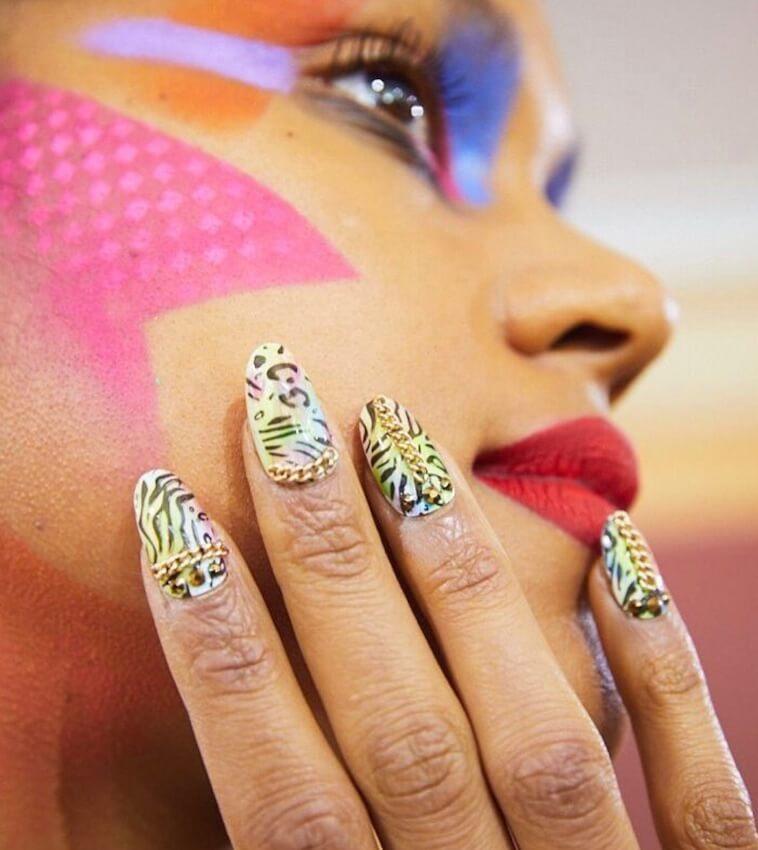 nail art applicazione gioiello 2019