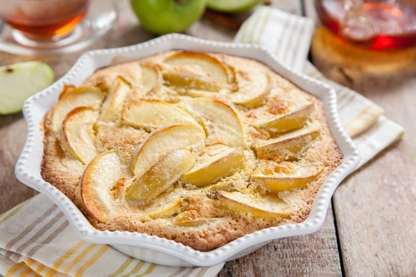 torta di mele cannella