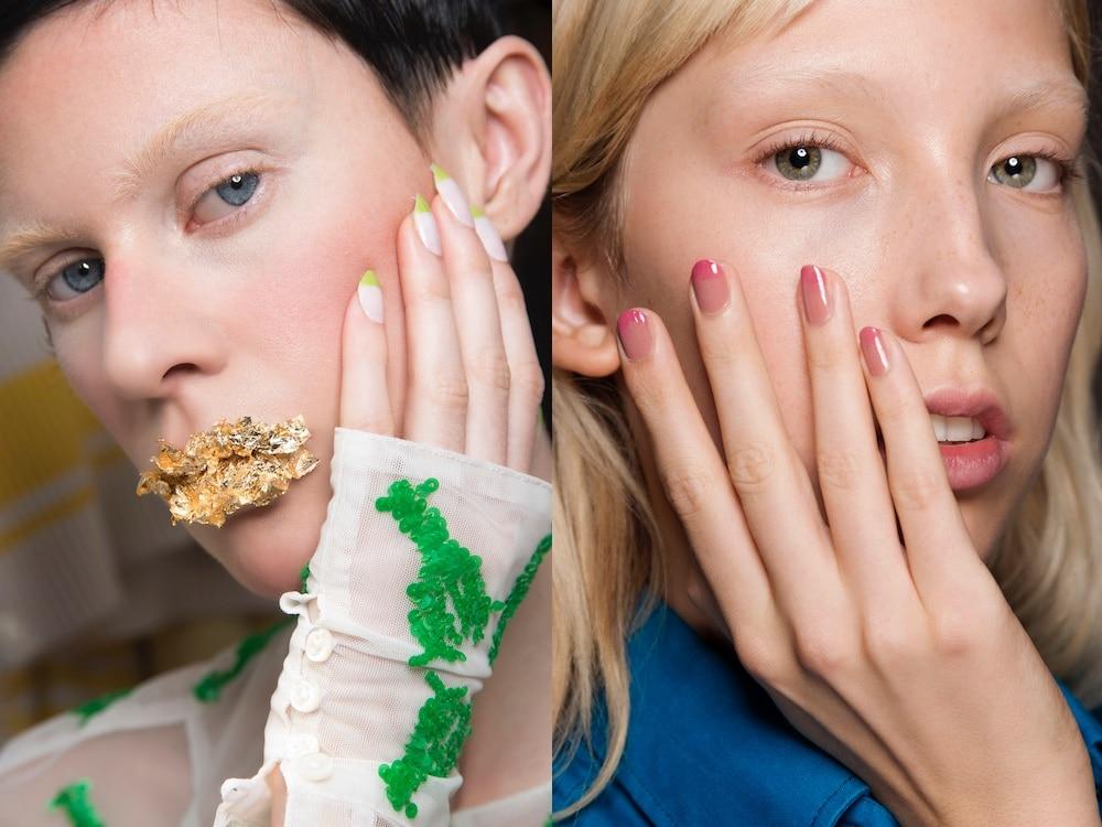 unghie french manicure estate 2019