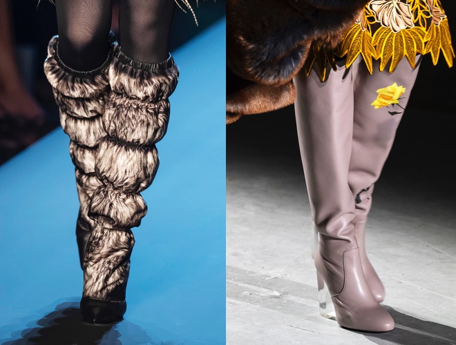 Stivali moda inverno 2019
