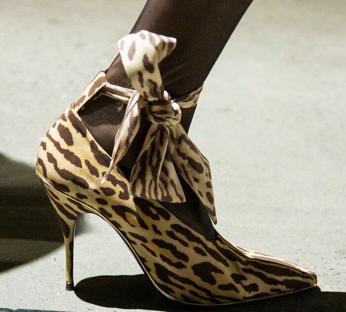 Zimmermann scarpe animalier inverno 2020