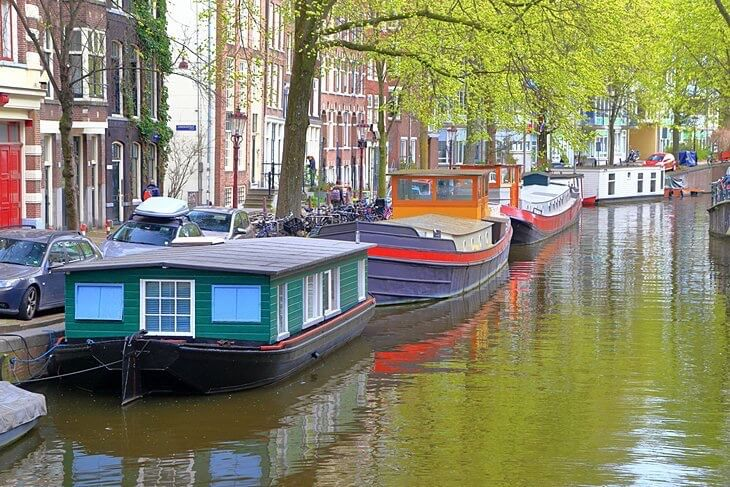 amsterdam vacanza travel boat